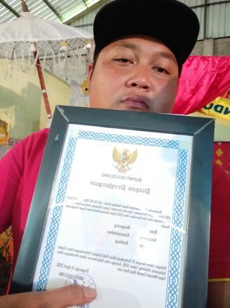 MENGENING HARAPAN III DALAM LOMBA EVALUASI PERKEMBANGAN DESA TAHUN 2019